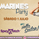 MARINES PARTY | 1ª NOCHE DE DESCORCHE | SÁBADO 1