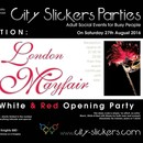 BLACK WHITE & RED | Opening Party @ Mayfair