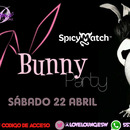 BUNNY PARTY | Sábado 22 abril | Purpura Love