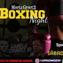 BOXING NIGHT! | Sábado 6 Mayo | Purpura Love
